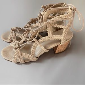 Indigo Rd lace-up heeled sandals